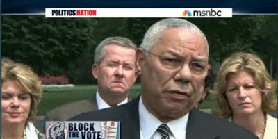COLIN POWELL BLASTS VOTER SUPPRESSION IN NC – TO THE GOVERNOR'S FACE