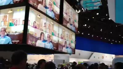 A hint of the world of Samsung at CES 2012