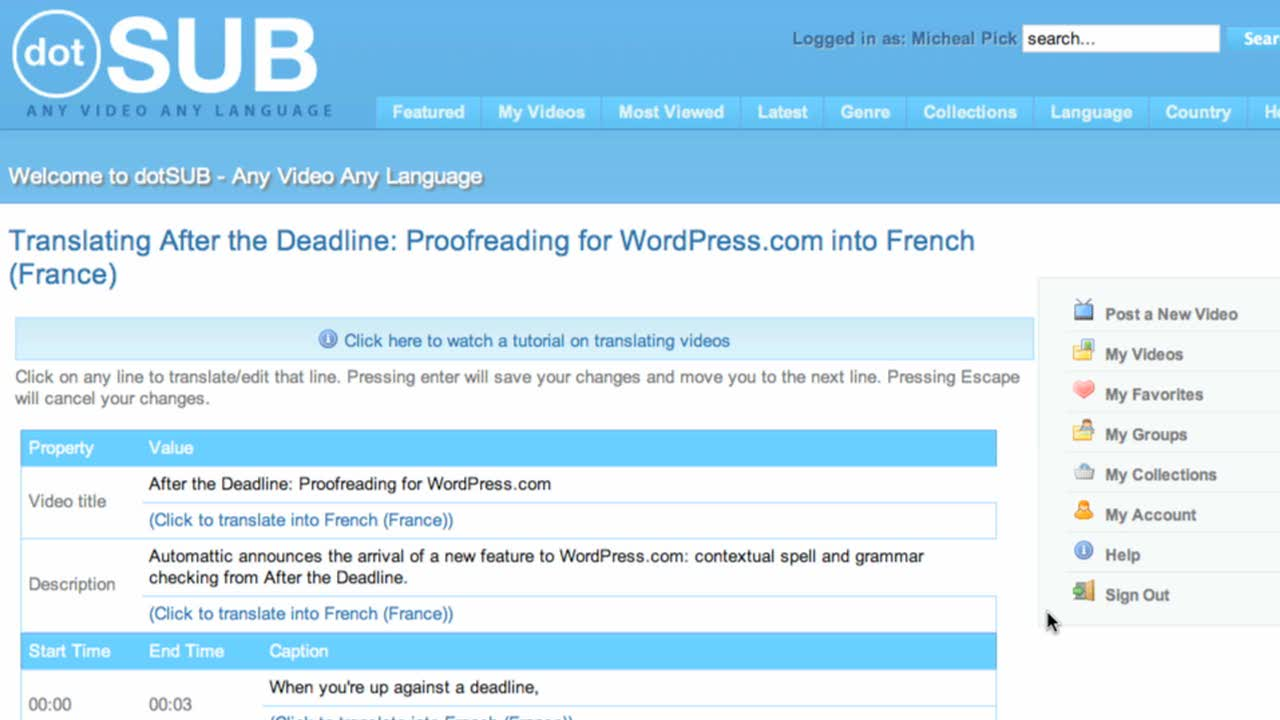 Translating WordPress.tv