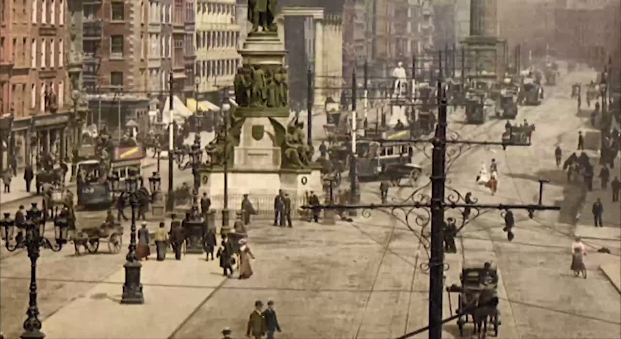 Turn of the Century Sackville Street
