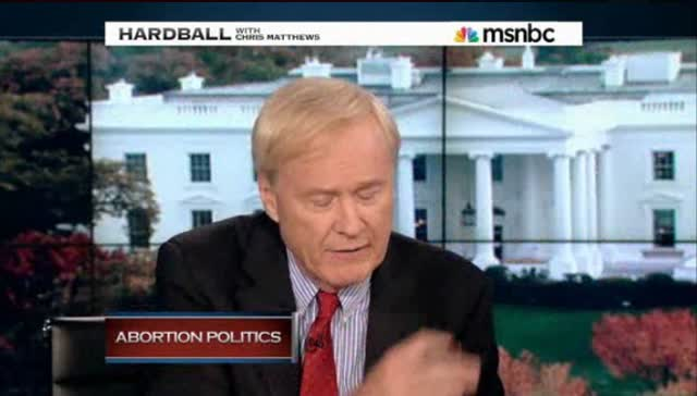 HARDBALL – REPUBLICANS, WOMEN AND ABORTION