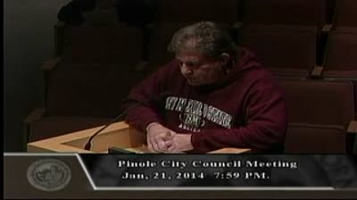 Jeff Rubin Attacks Phil Green at 1-21-2014 Council Meeting Part II