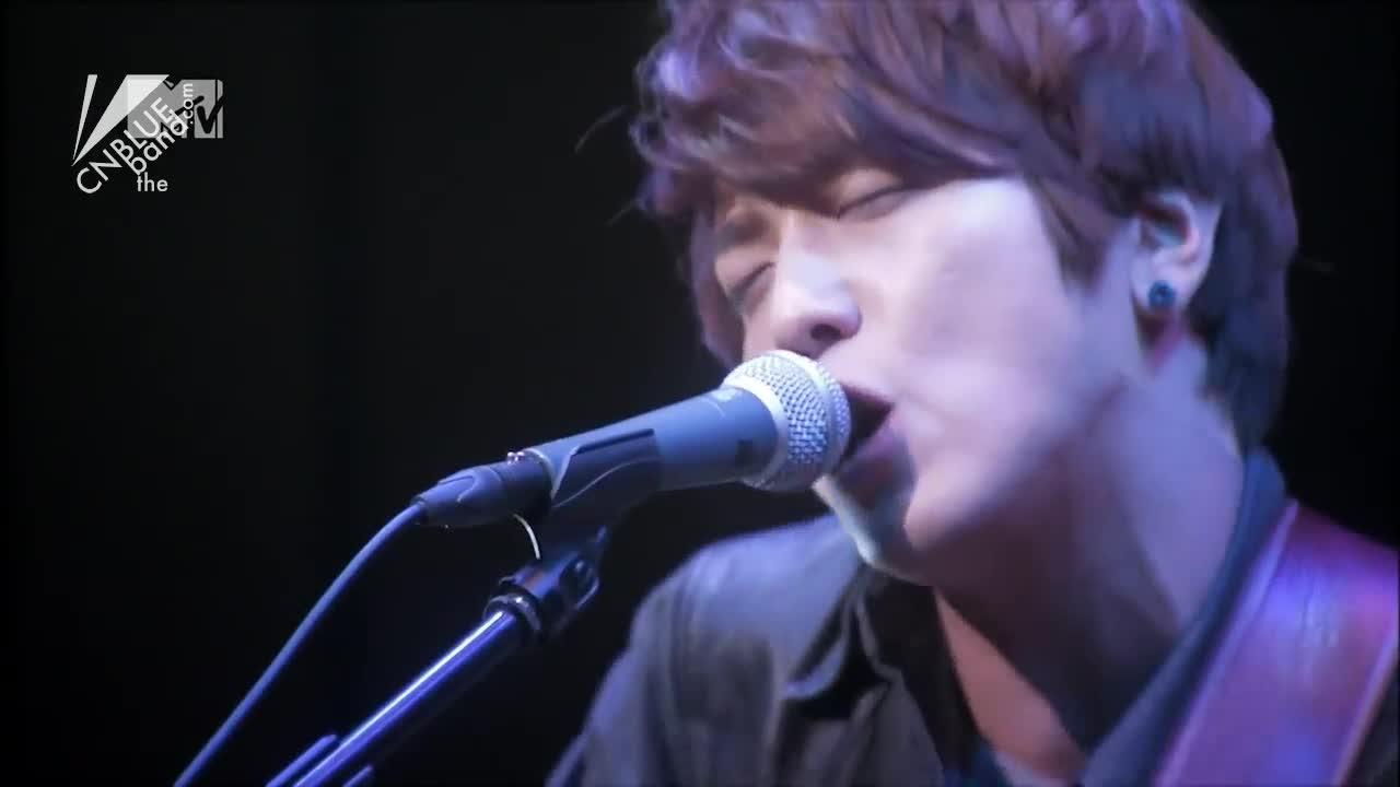 """One Time"" 작곡 정용화 RYO 작사 정용화 (MTV Unplugged)"