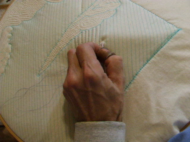 Tim Latimer Hand Quilting