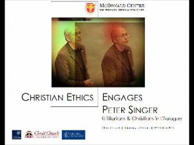 Session 3: Utilitarianism, Christian Ethics & Moral Theory