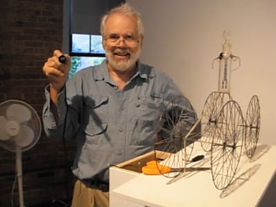 "Sculptor David Lang, discussing his work ""Play by Play"""