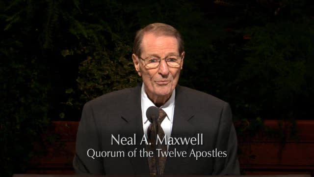 How Choice A Seer! – Neal A. Maxwell