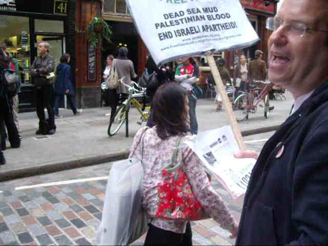Ahava protest: 9th October 2010
