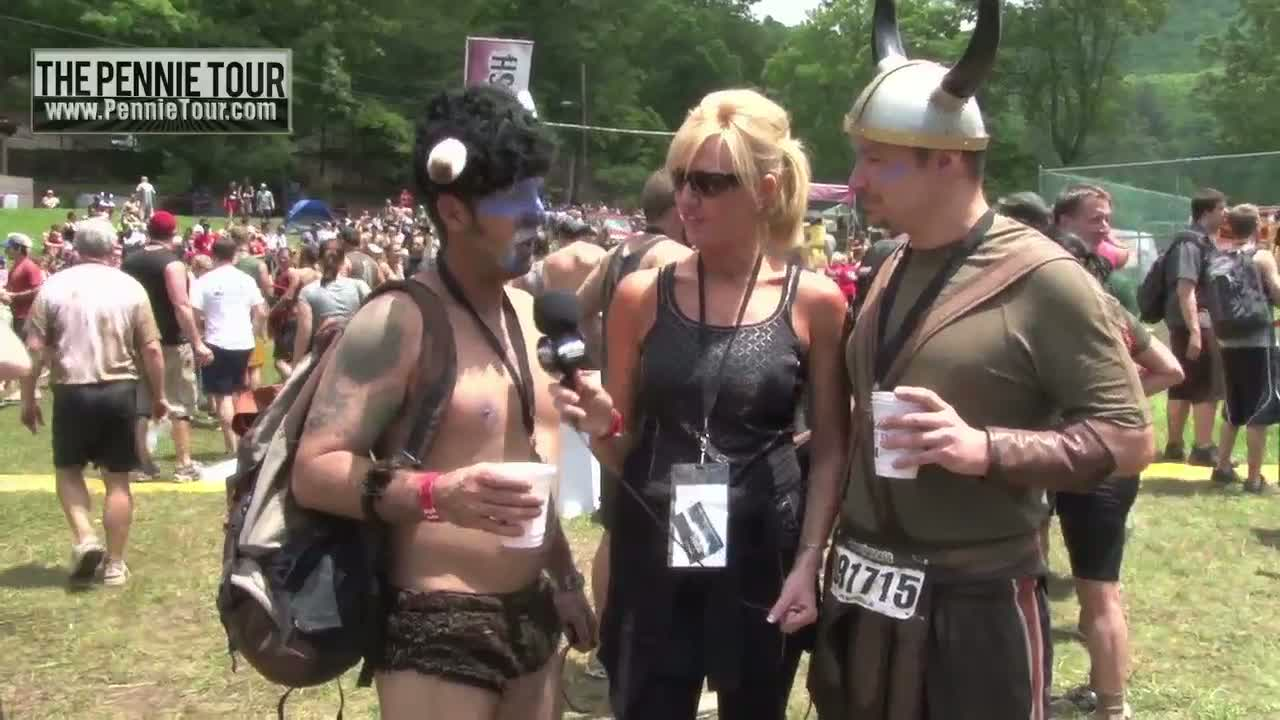 The Warrior Dash in Mountain City, Georgia