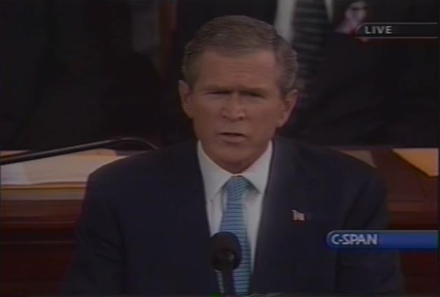 BushPresidentialAddress