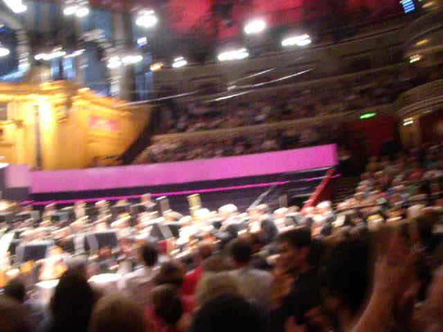 Massive ovation for IPO at RAH at end of concert on 1.9.11: www.richardmillett.wordpress.com