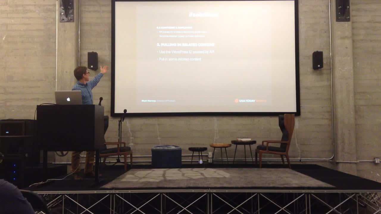 Matt Harvey, USA Today – Keeping the Score – using APIs to display sports data through WordPress