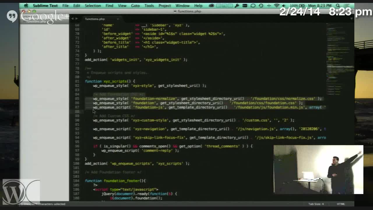 Steve Zehngut: Theme Development With Foundation Framework