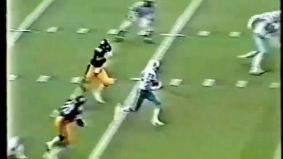 Houston Oilers &#8211; Steelers 1979 Vernon Perry Interception &#8211; YouTube
