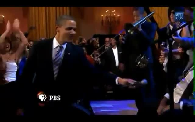 POTUS Sings the Blues