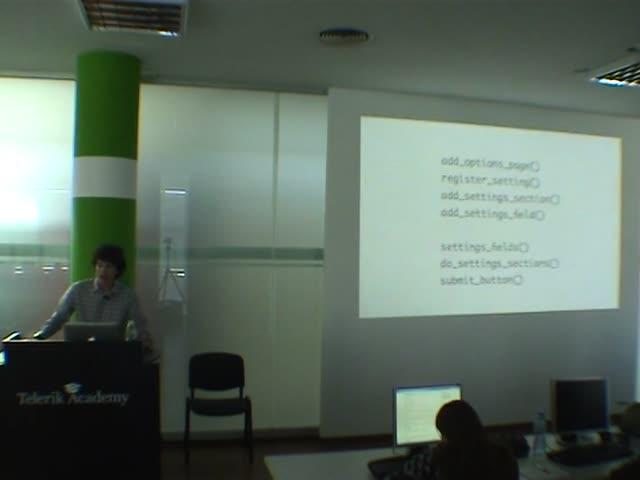 Konstantin Kovshenin: Settings API