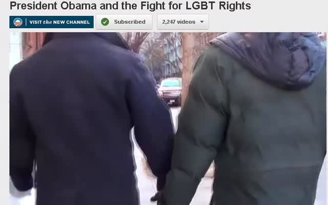 Obama and LGBT Rights