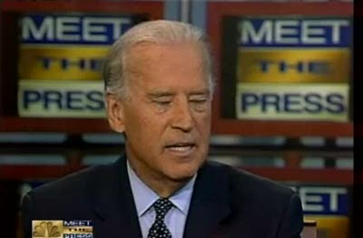 Joe Biden on Meet The Press