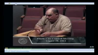 Sal Spatero Knocks It Out Of The Park 9-3-2013 Council Meeting