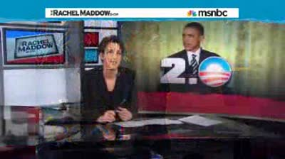 Rachel Maddow  After first term mired in Republican obstruction, new hope for Obama