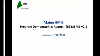 Program Demographics 2