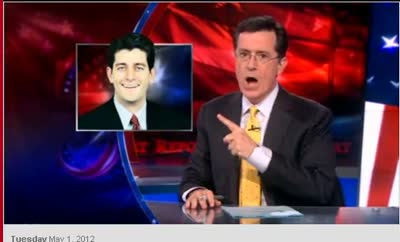 Stephen Colbert – Obama Afghanistan 2024 and Paul and his fixation on Ayn Rand