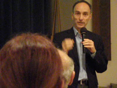Jeffrey Smith at Natural Gourmet lecture