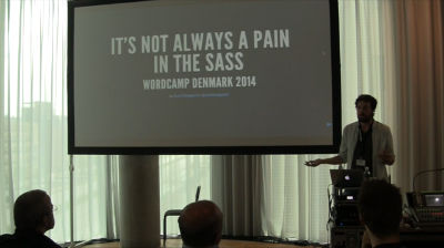 It's Not Always a Pain in the Sass – Scott Basgaard