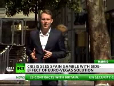 Eurovegas to drag Spain out of crisis  or into the gutter   RT