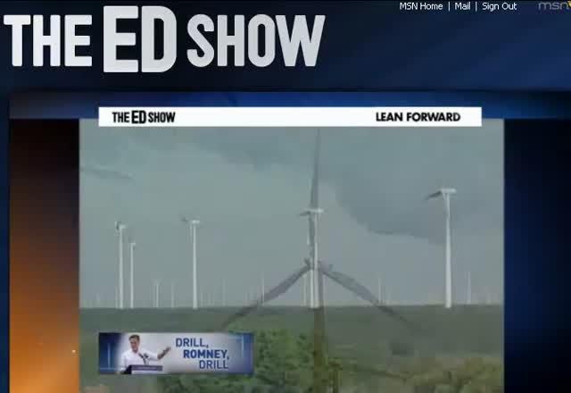 THE ED SHOW ED SCHULTZ – Romney's Energy Plan