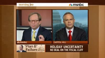 Morning Joe  Huelskamp  Its not a taxing problem, its a spending problem