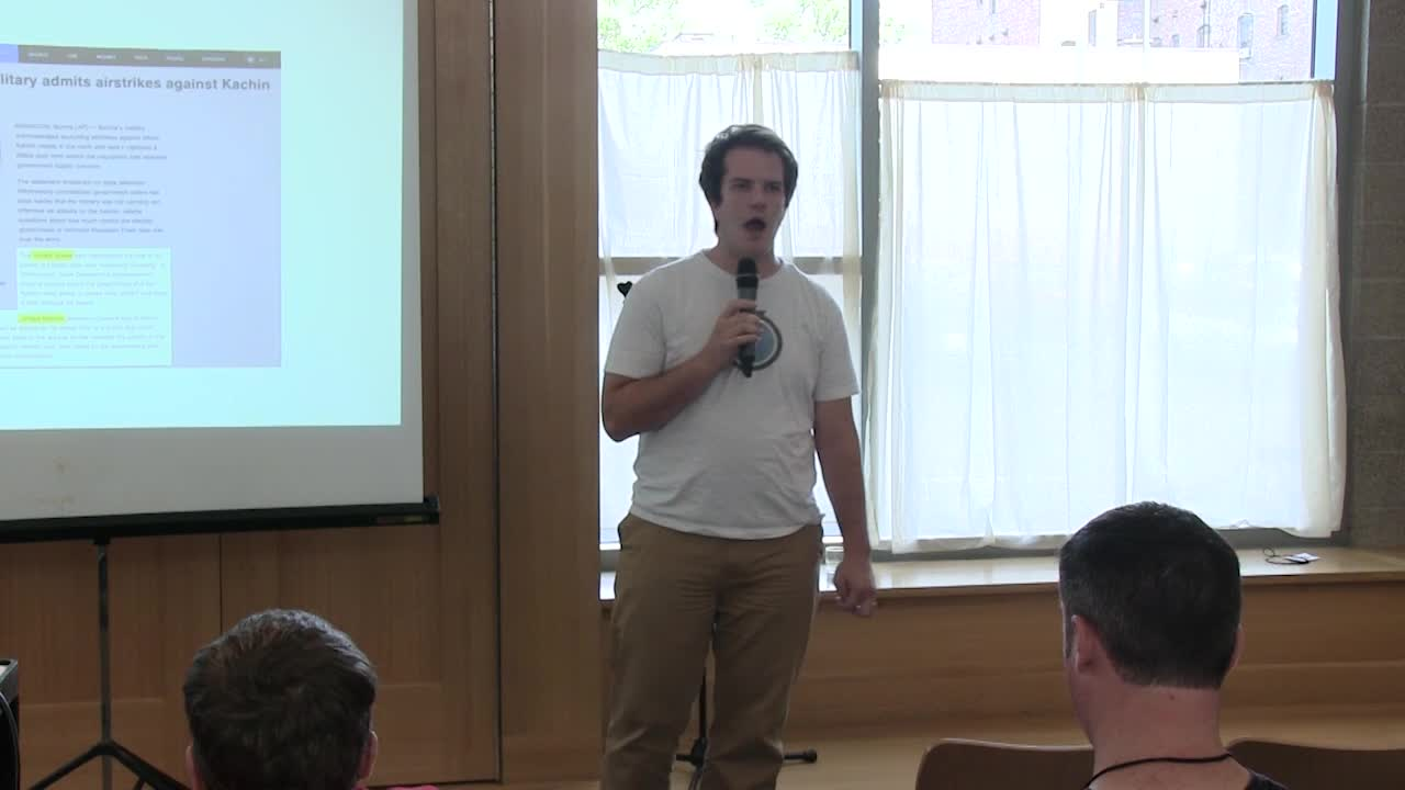 Paul Clark: Lightning Talk – How WordPress Saves Lives & Moves Governments