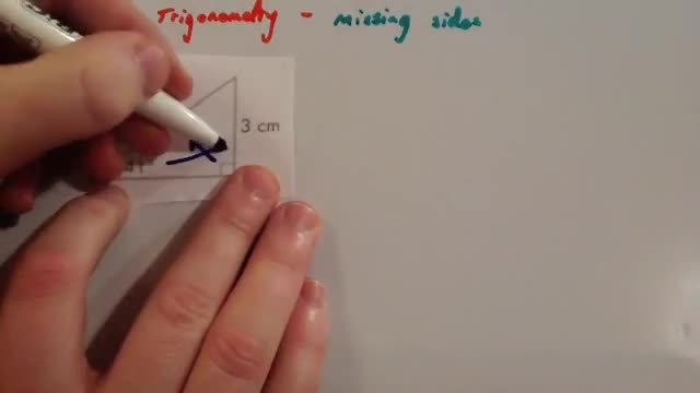 Trigonometry missing sides – Corbettmaths