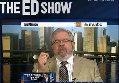 EDSHOW – Romney-Ryan Territorial Tax Takes from the Poor and Gives to the Rich