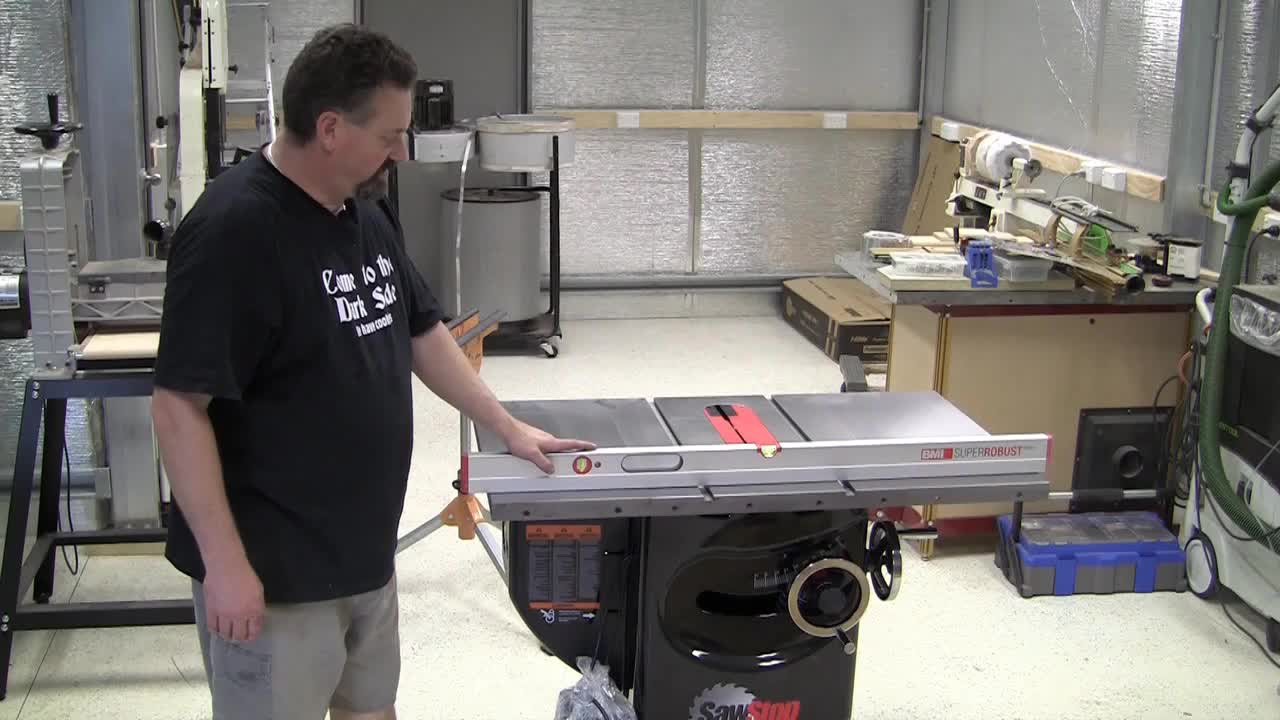 Episode 100 SawStop Assembly