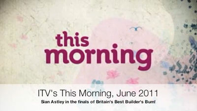 This Morning Britain's Best Builder's Bum June 2011 Sian Astley – Mobile