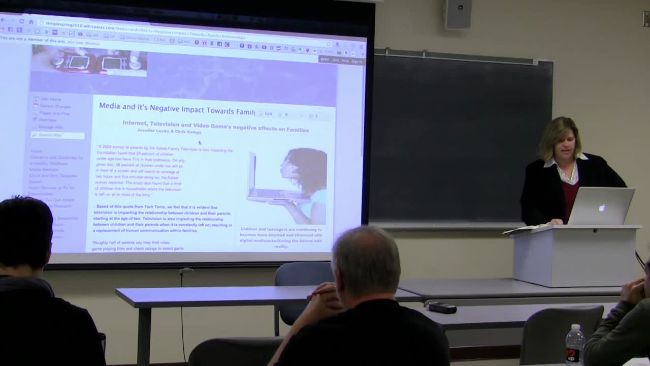 Dr. Renee Hobbs: The Implementation Of WordPress in The Academia