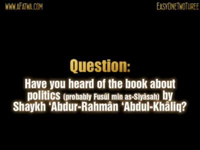 al-Ikhwan al-Muslimun only care about positions, parliaments, votes etc Imam al-Albani