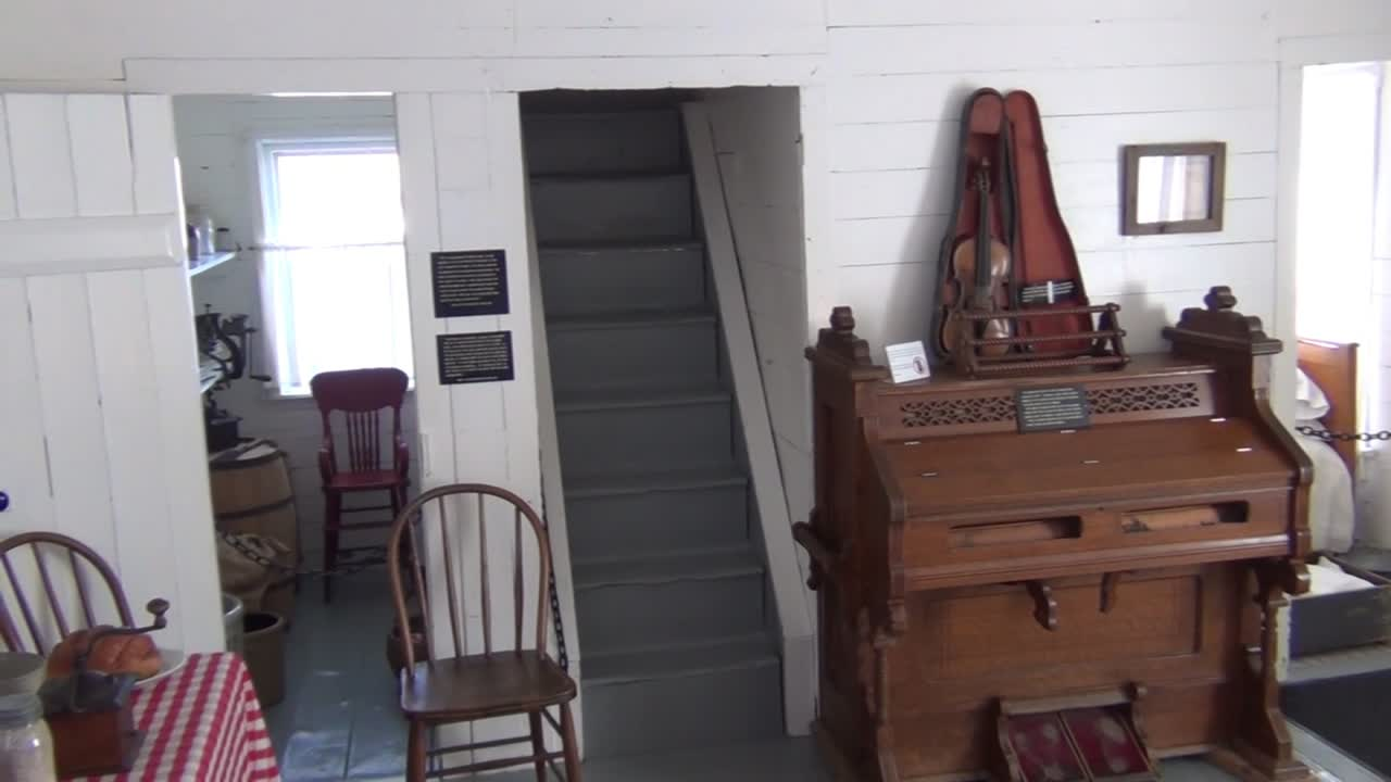 Inside the Surveyor's House