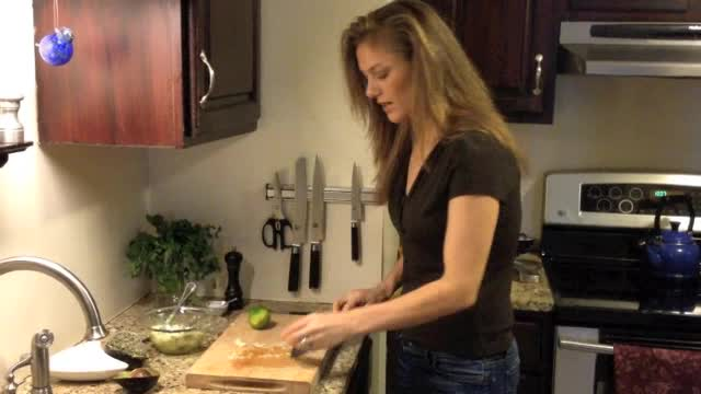 Making Guacamole: Just Four Ingredients!