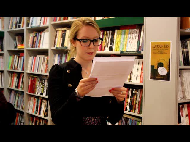 Danielle Fenemore reads &#8216;are we nearly there yet?&#8217; by Emily Pedder