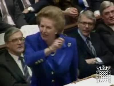 Thatcher on rich poor gap