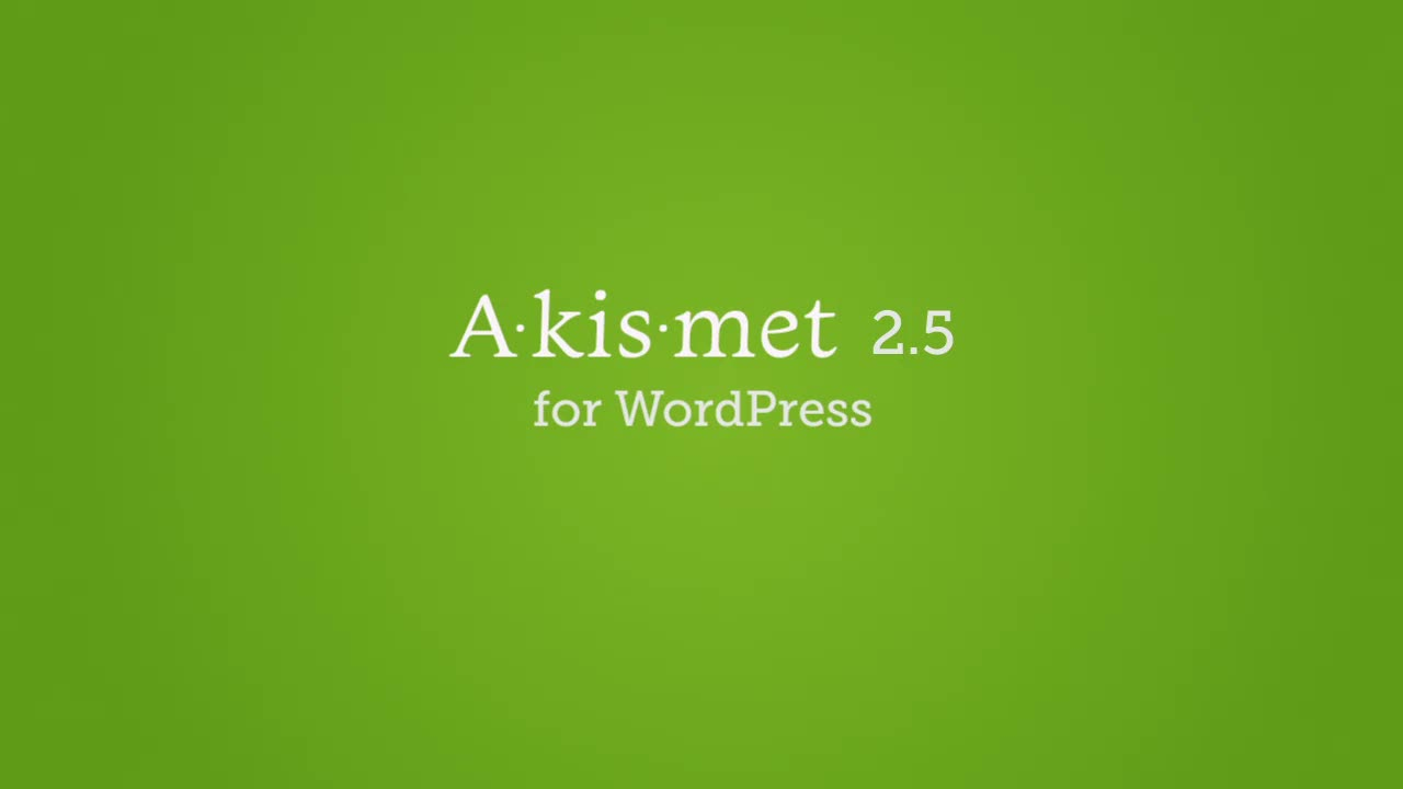 Introducing Akismet 2.5 for WordPress