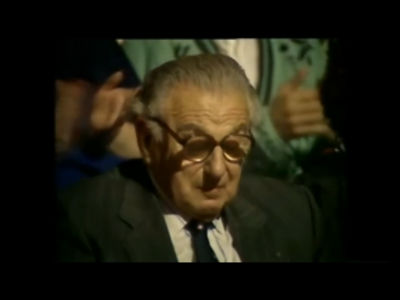 Sir Nicholas Winton, That&#8217;s Life 1988 (Copyright BBC)