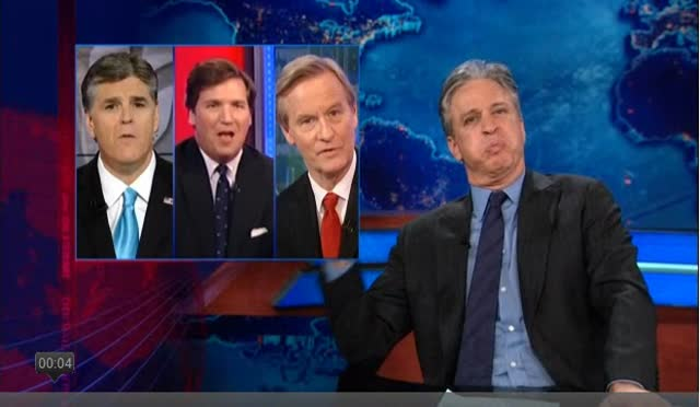OBAMA &#8211; JOHN STEWART &#8211; SCANDAL-DAR