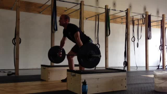 125# Snatch from blocks