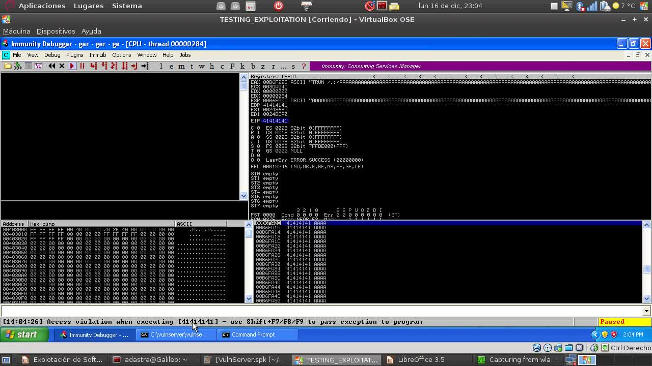 Explotación de Software Parte 19 – Fuzzing con Spike