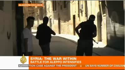 Syria Launches Assault on Aleppo 08-08-12