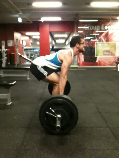 175kg dead lift for 3