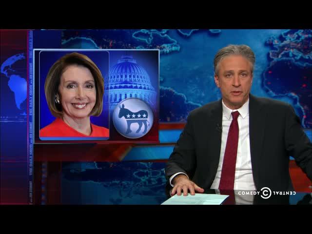 Jon Stewart Savages Pelosi